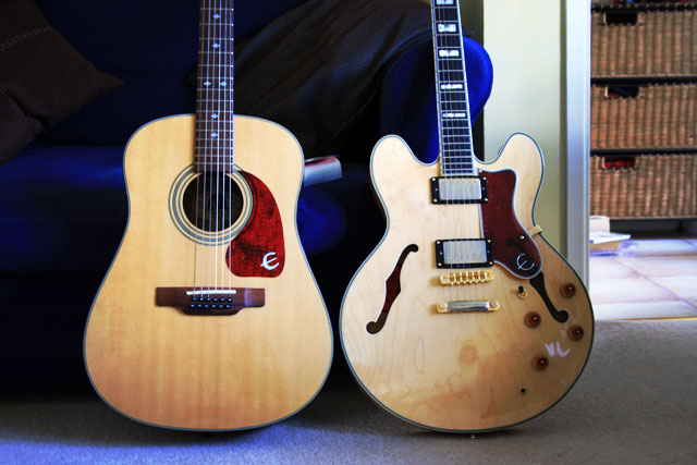 My Epiphone guitars