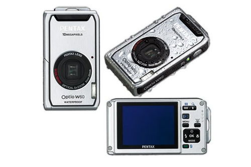 Pentax W60 Waterproof camera