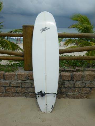 7'0 fun board - bottom view
