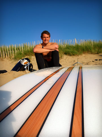 Me and the Bilbo 9'1 at Bantham (again)