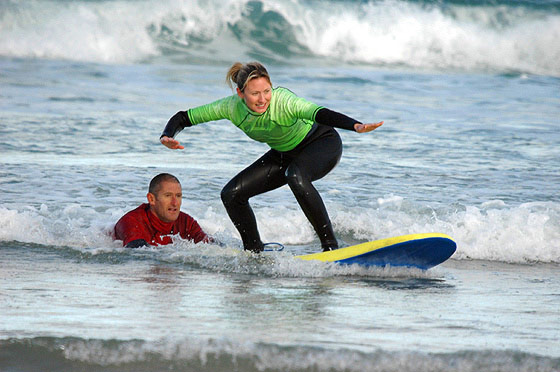 mike young escape surf school