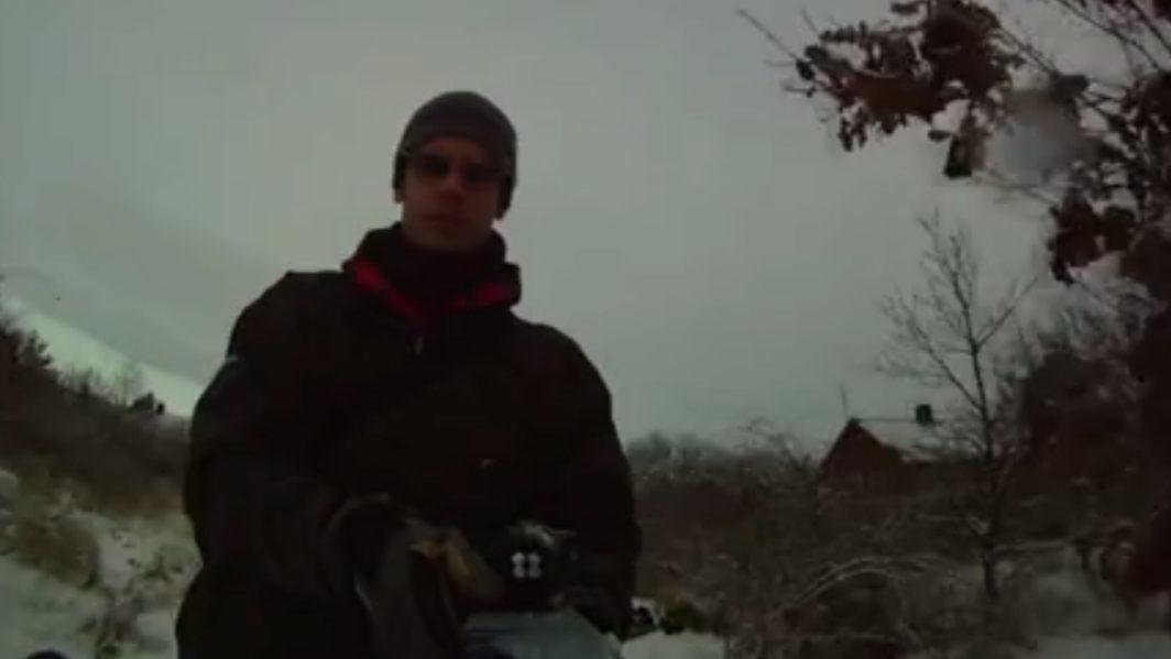 Skiing in Alpine Essex Video Cover