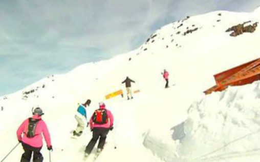 Skilas Tours Skiing Race Video Cover