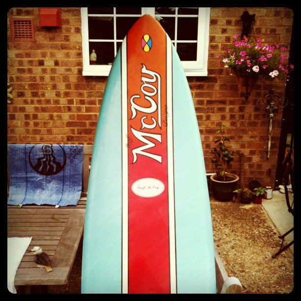 mccoy nugget 6'8 surftech tuflite