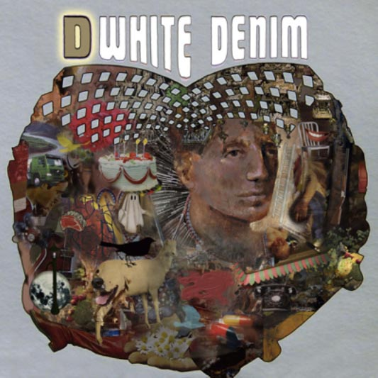 White Denim D album cover