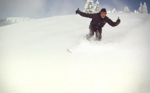 Morzine Snowboarding Video Cover