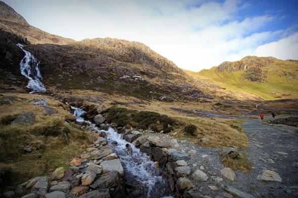 Snowdon hike 1