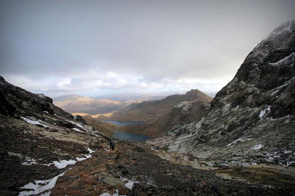 Snowdon hike 7