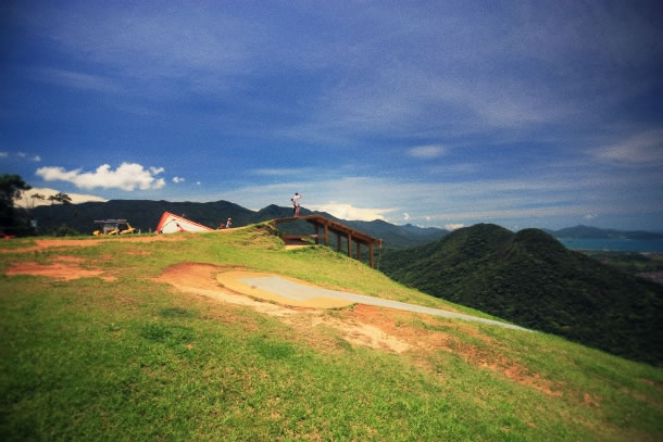 Caraguatatuba paragliding 2