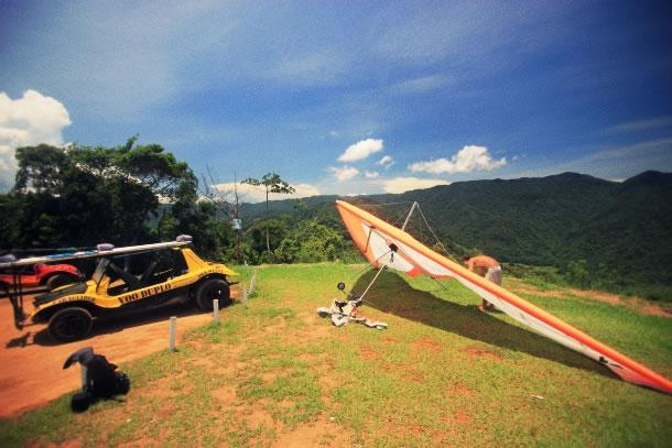 Caraguatatuba paragliding 3