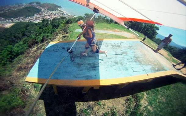 Caraguatatuba paragliding 4