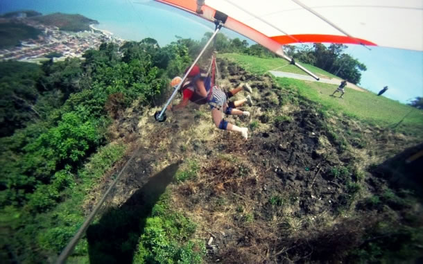 Caraguatatuba paragliding 5