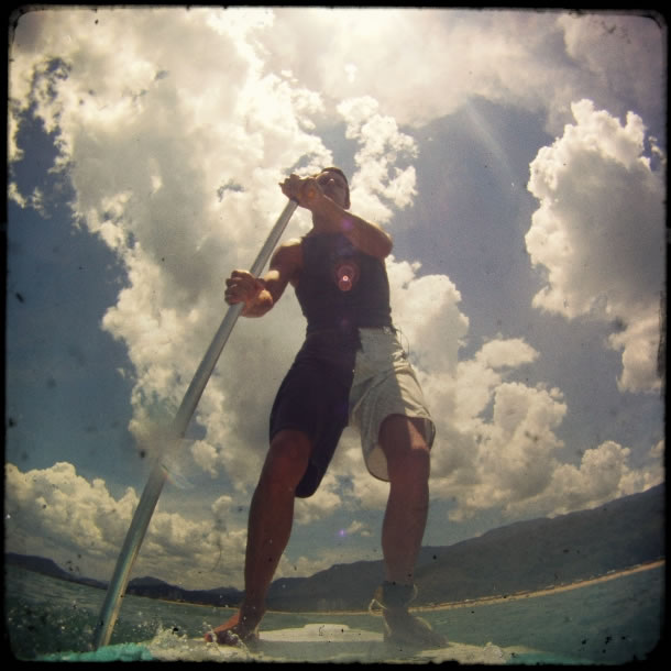 Cocanha Stand up paddle boarding 3