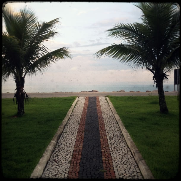 Path to praia da Massaguacu