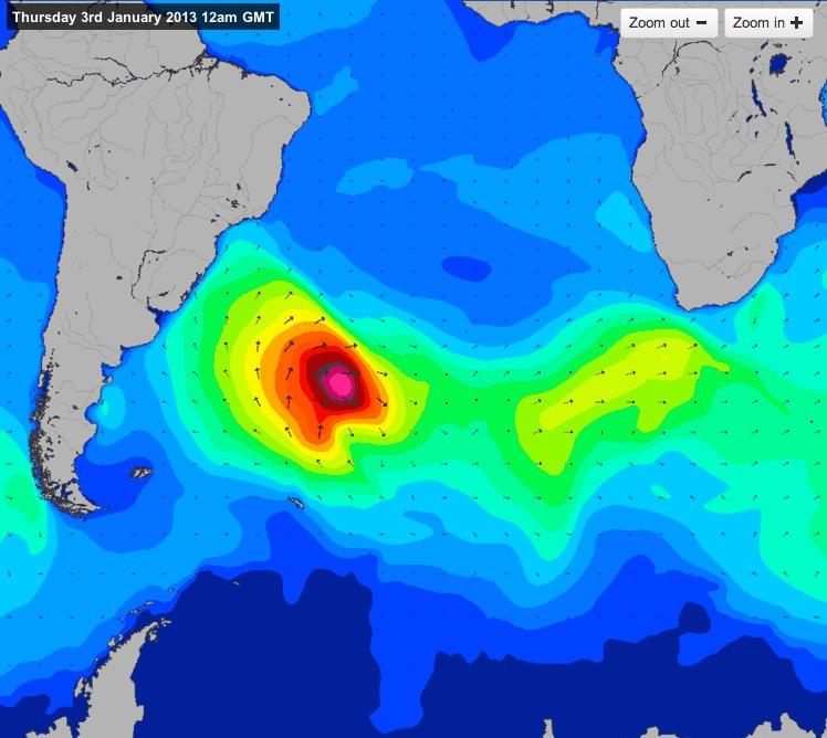 South Atlantic Swell