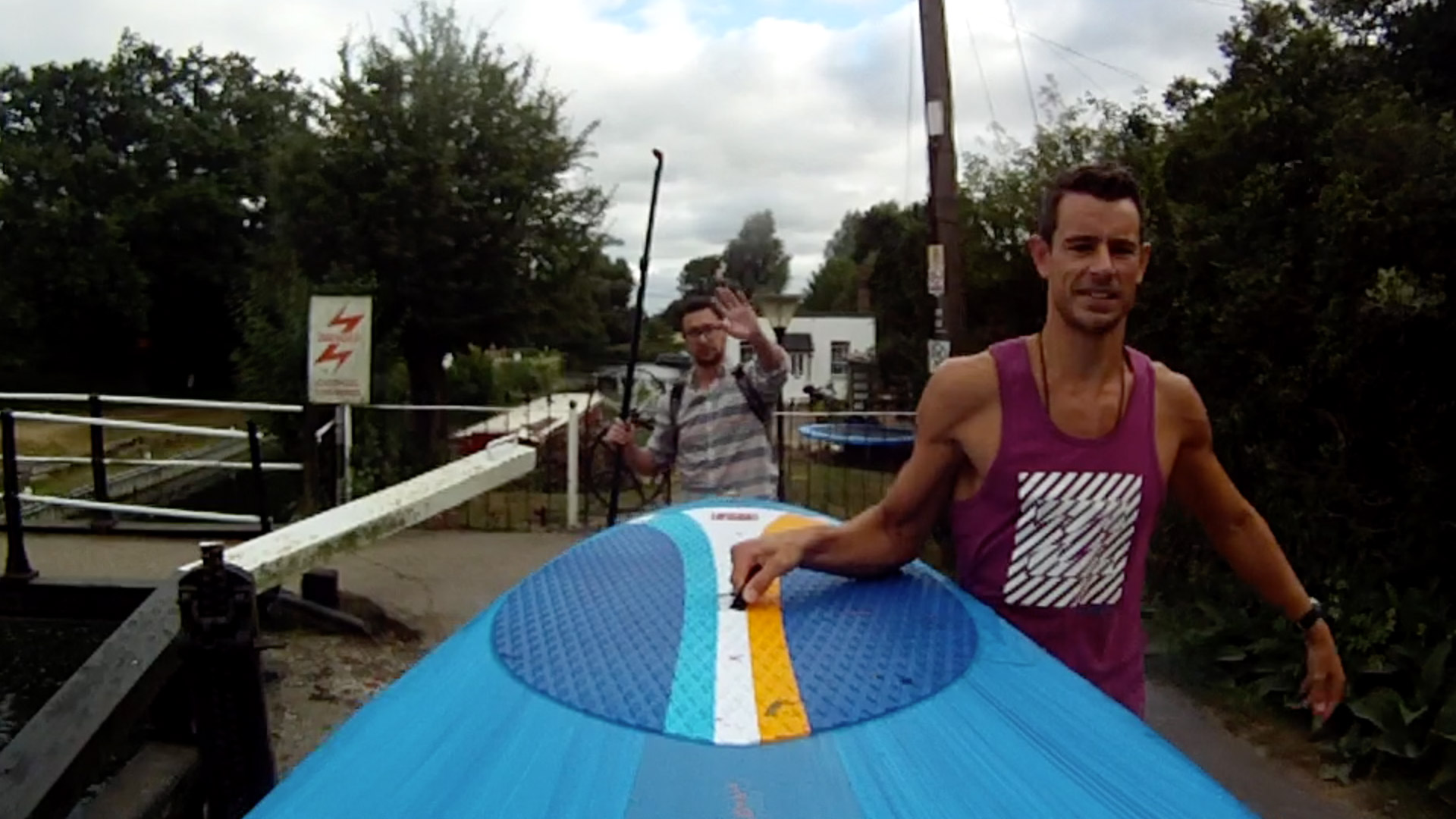River Stort Inflatable SUP Video Cover