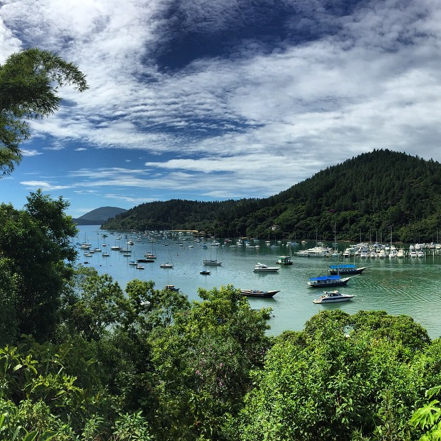 Life in paradise never gets dull. #brazil #ubatuba #beach