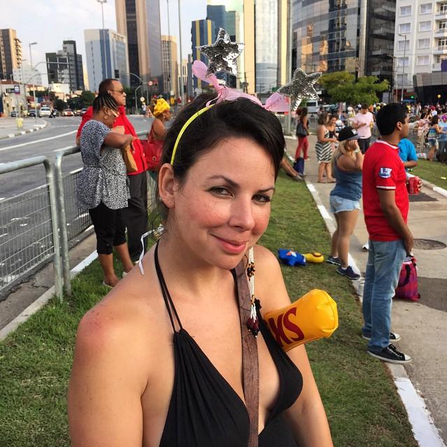 Carnaval girl. #brazil #carnaval #saopaulo
