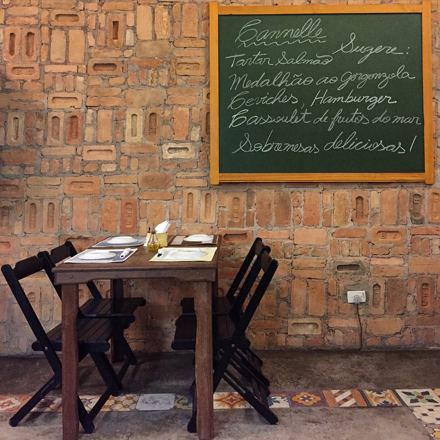 Lovely little bistro, Cannelle in Ubatuba. #brazil #ubatuba