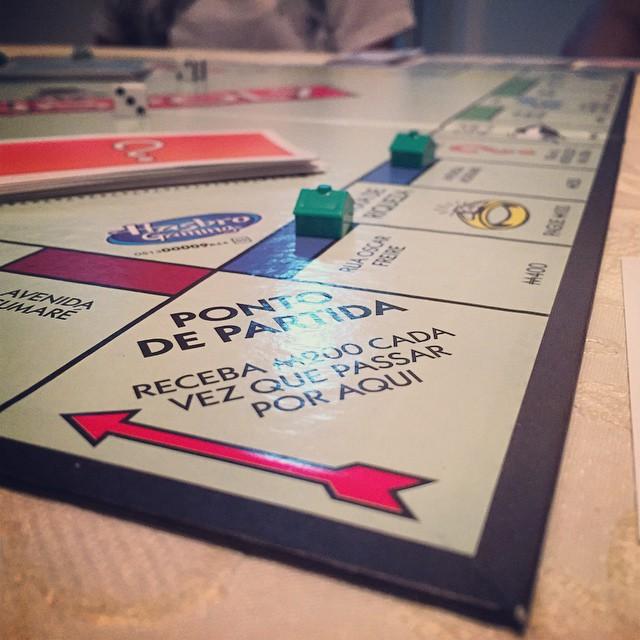 Loosing at Brazilian Monopoly! #brazil #riviera