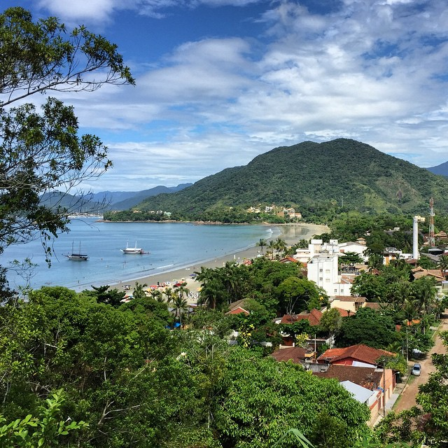 Toninhas or Enseada can't remember. #brazil #ubatuba #beach