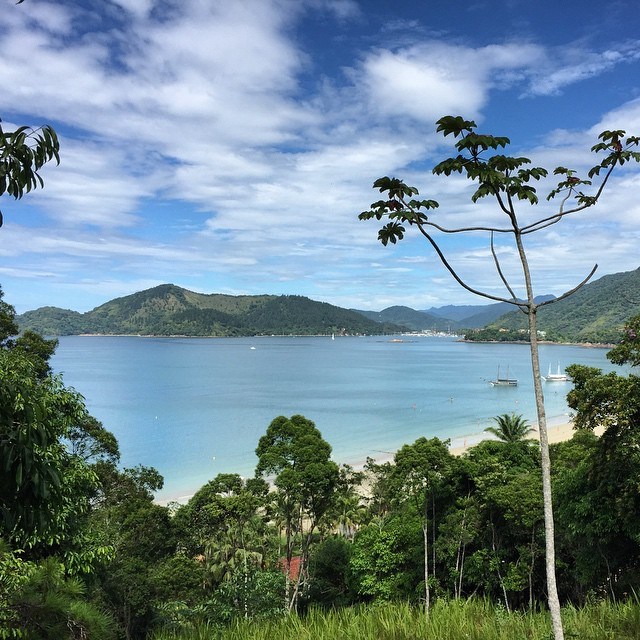 On the way to Praia Grande #brazil #ubatuba #beach