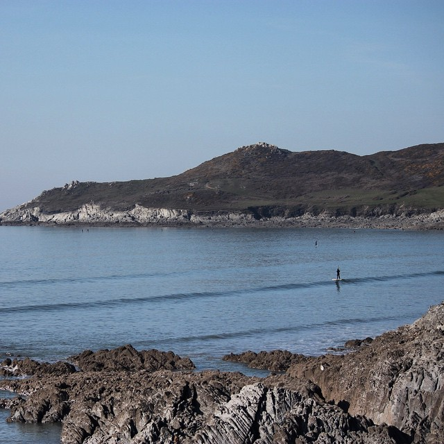 Escape the madding crowd! #sup #standuppaddle #devon