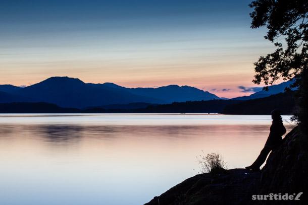 Contemplation over Loch Lomond