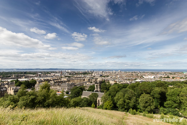 Edinburgh lookout