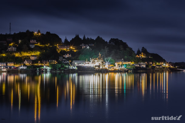 Boats by night