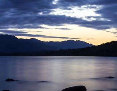 Loch Lomond evening stillness
