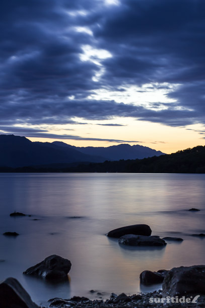 Loch Lomond evening stillness