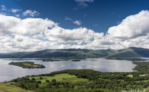 View of Loch Lomond & The Islands