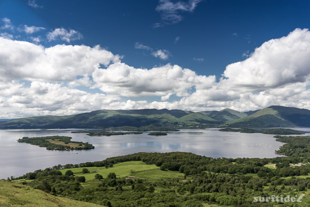 View of Loch Lomond & The Islands