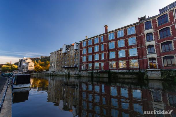 Historic Wharfs, River Avon, Bath