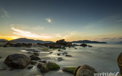 Sunrise at Mococa Beach