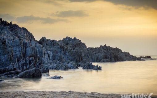 Barricane Beach Sunset