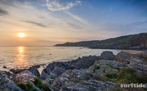 North Devon Coast Sunset