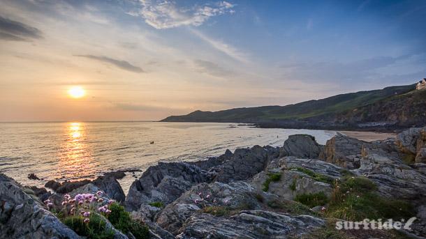 North Devon Coast Sunset