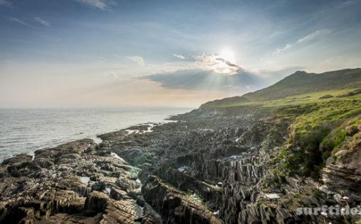 South West Coastal Path Sunset