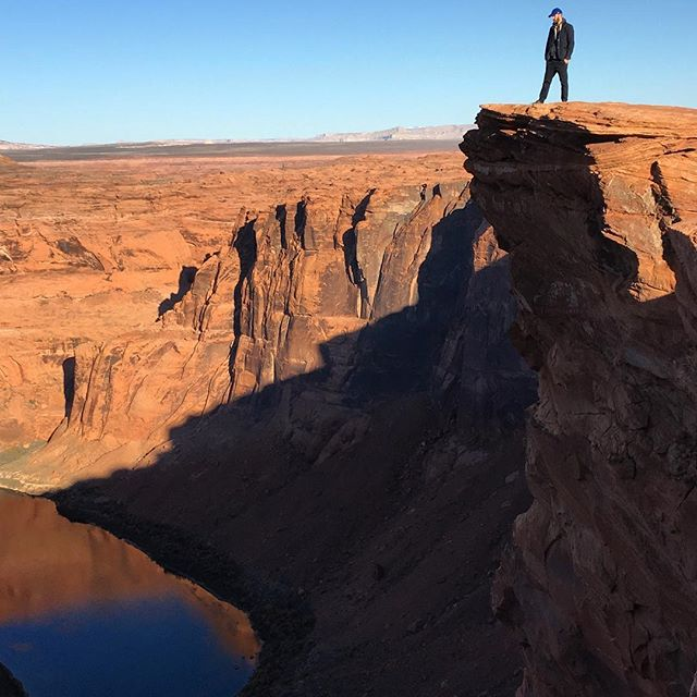 James at Horseshoe Bend, Grand Canyon