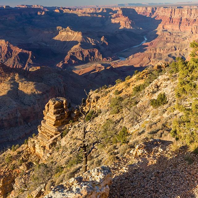 Western Skyline, Navajo Point, Grand Canyon