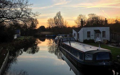 Sunset at Twyford Lock