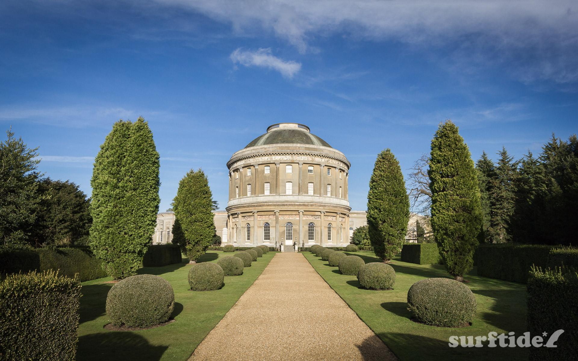 The Rotunda, Ickworth House & Gardens