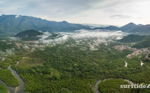 Aerial view of Rio Escuro, Ubatuba, Brazil – Preview