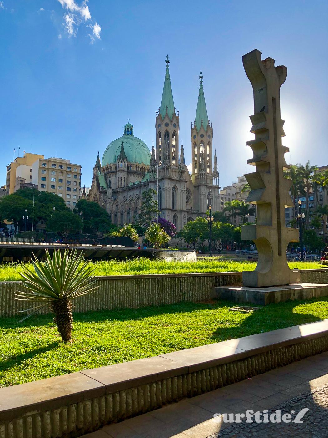 Catedral Metropolitana de São Paulo from Praça da Sé