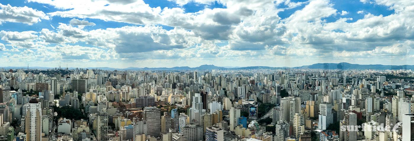 Panoramic View from Edifício Itália