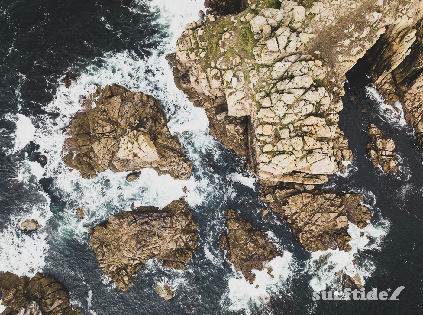 Land's End Headland Aerial