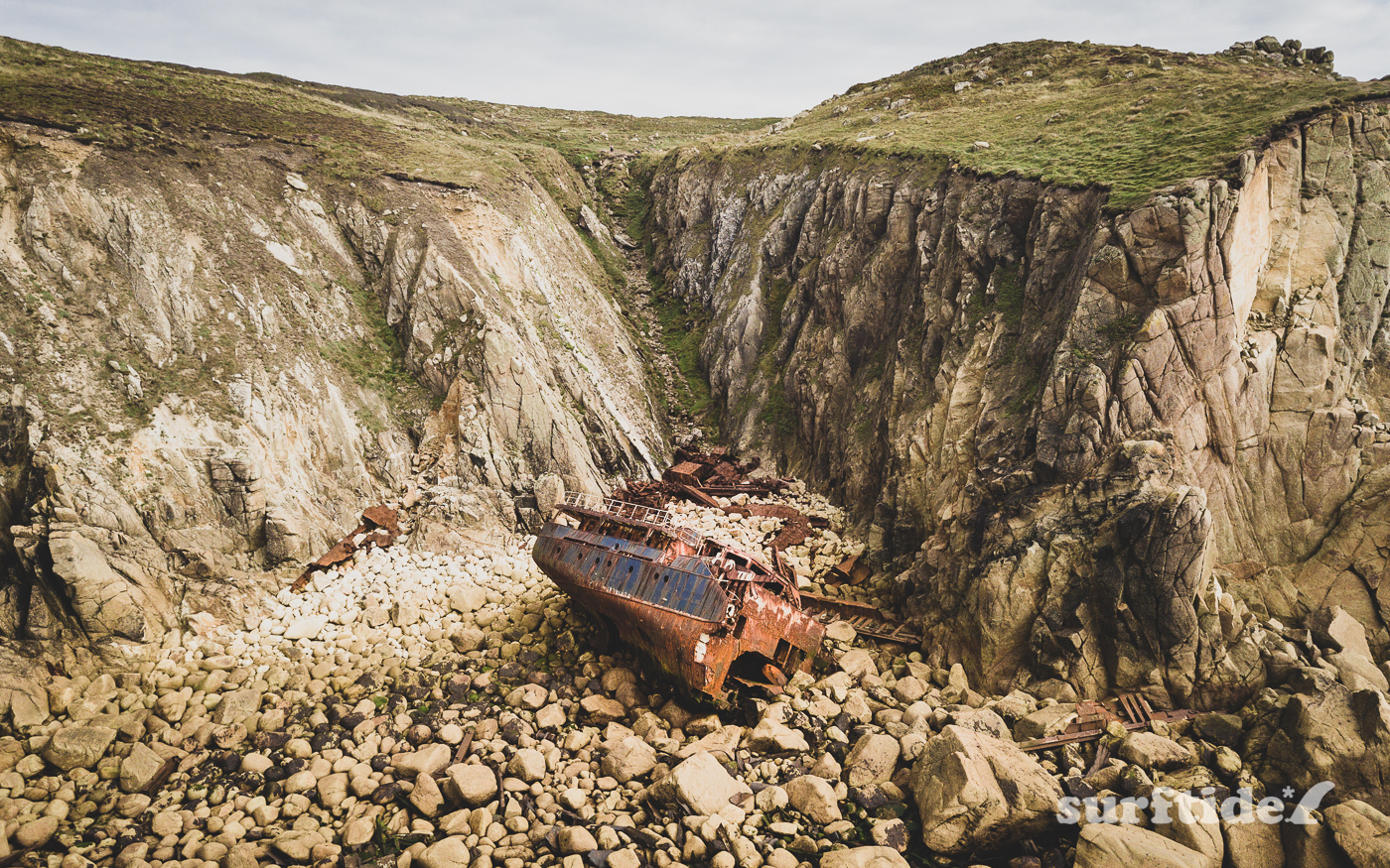 Shipwrecked RMS Mulheim