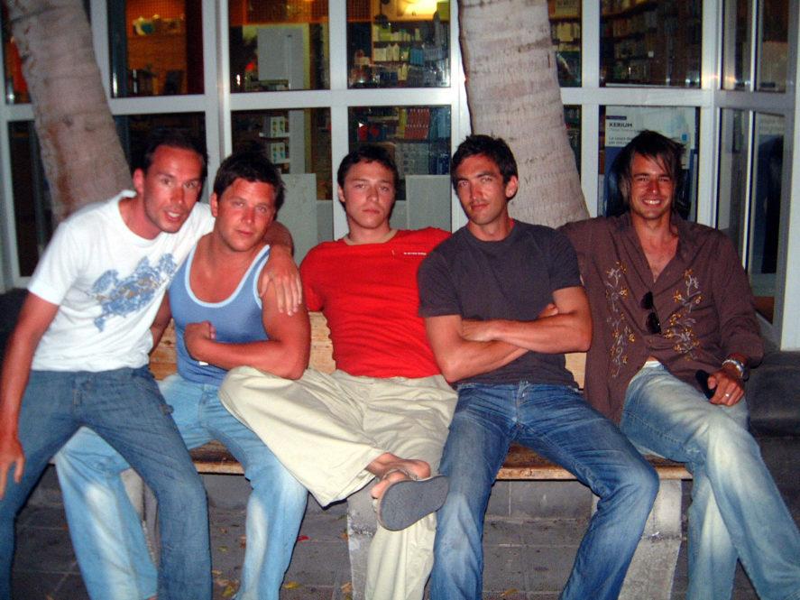 Richie, Mark, Steve, Ben and I, Fuerteventura 2005